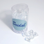 B1809 Table Diamonds: 17mm: Pack of 50: Clear